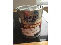 "Dulux Trade Weathershield Exterior Gloss 1 litre in ""Royal Regatta Blue 5"" (blue)"