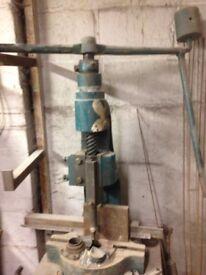 4 ton fly press