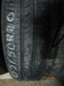 255/50R20 SET OF 4 USED HANKOOK A/S TIRES