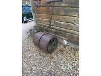 Garden rollers antiques heavy duty