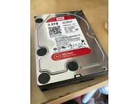 WD RED 3 TB NAS Hard Drive *unused* (2018)