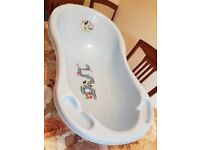Mickey mouse baby bath tub