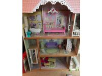 'KidKraft' Large Chateau Doll House with furniture and moving lift
