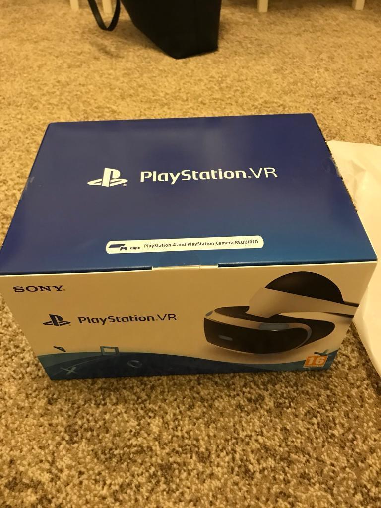 PS4 ps vr headset brand new bundle
