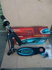 Electric scooter Razor e100 core blue
