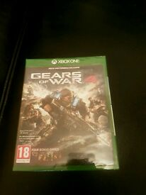 New and sealed gears of War 4