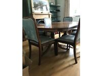 Reprodux by Bevan Funnell Dining Table and 6 chairs