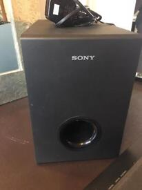 Sony SS-WCT60 Sound Bar & Subwoofer