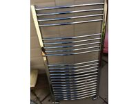 Crome ladder towel radiator