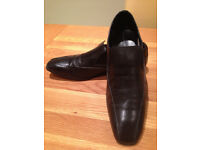 Base Black Men's 'Sain' Smart Slip-on Shoes (UK10/EU44)