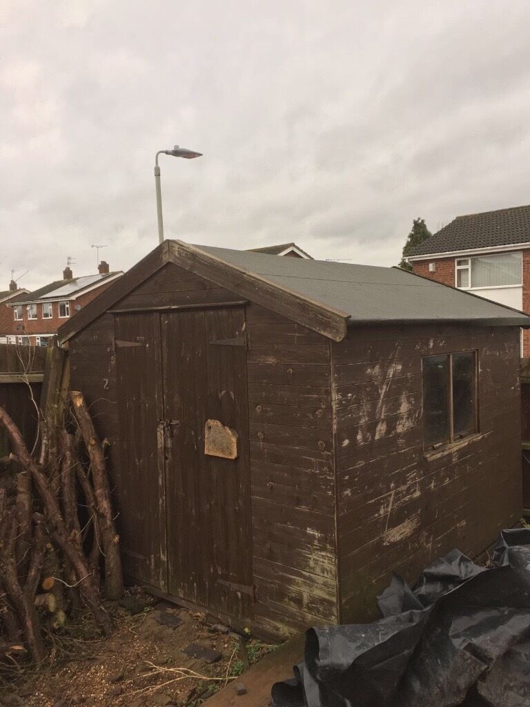 used garden shed in leicester leicestershire gumtree