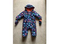 Baby snowsuit- M&S 3-6 months