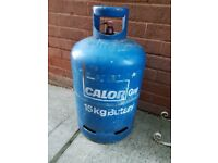 Large Calor Gas Bottle. 15 kg. 3/4 Full