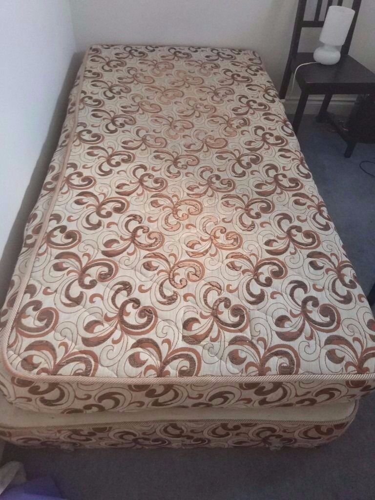 unlopillo Single Bed Base And Mattress Can Deliverin Filton, BristolGumtree - Dunlopillo single bed base with a comfortable mattress, the bed base has a few tea stains as can be seen from the pictures, comes without headboard and doesnt have any drawers. Can deliver for free or collection