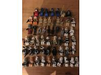 Lego Star Wars figures x 55 rare collectible