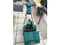qualcast suffolk punch 35s lawnmower for sale.