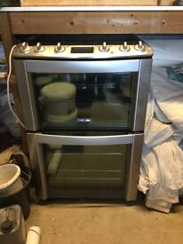 Electrolux fan assisted double oven