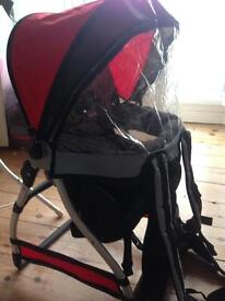 Chicco caddy child back carrier
