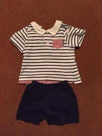 Tutto Piccolo Shorts and T-Shirt