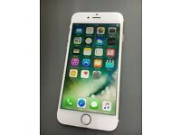 iphone 6 16GB, unlocked to all network White gold Mobile phone Good Condition + Warranty