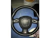 2010 Audi A5 steering with airbag