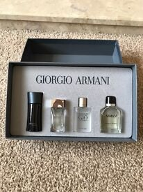 Giorgio Armani luxury fragrance perfume aftershave for men