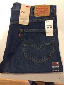 Levi 550 Relaxed Fit Jeans