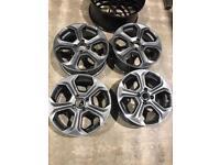 Ford Fiesta st alloys