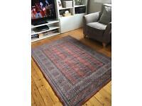 100% New Zealand Wool - Oriental Rug - 139cm x 195cm