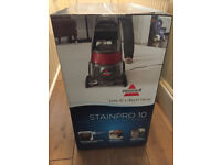 Brand New In Box Bissel Carpet Cleaner Stainpro 10