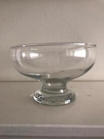 Footed Bowls suitable for table decorations or centrepieces