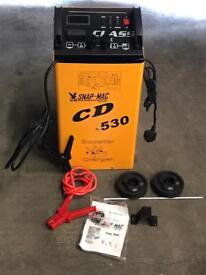 12 \ 24v 530 amp Battery Charger and Booster. Ideal for Vans,cars,tractors,lorries, garage tools.