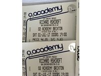 Richard Ashcroft Tickets - 02 Brixton Academy