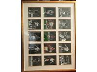15x signed West Ham pics professionally framed and mounted