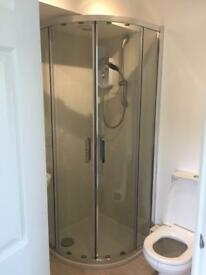 Cooke & Lewis Beloya quad shower door