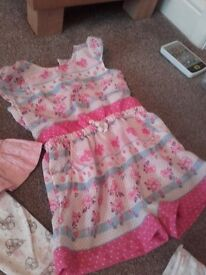 4 outfits age 3-6 months
