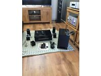Pioneer flagship top of range 3D blue ray home theatre system