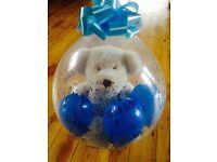 New Baby Stuffed Balloon with Teddy