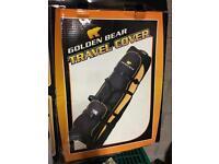 'Golden Bear' golf bag travel cover