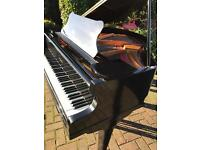 "Black baby grand piano 4.6"" B.Squire
