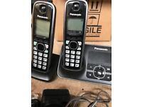 Panasonic witless home phone with answer machine