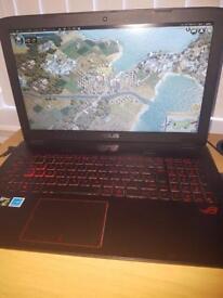 Asus gaming laptop ROG gl552vw