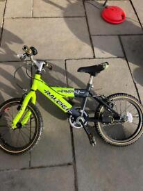 """Raleigh 16"""" wheeled bike"""