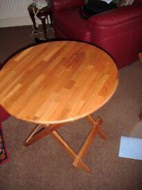 Ikea Hishult Side Table (19629)