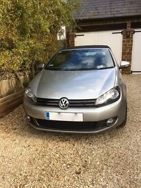 VW Golf Cabriolet 1.4 GT TSi Excellent condition. Full VW service history, 35,000 miles.