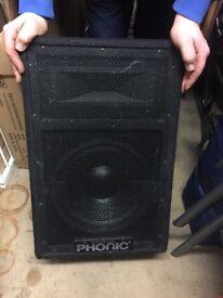 Phonic Speakers SE712 & Phonic Speakers SE715