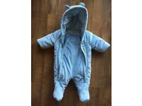Padded Snow Suit (0-3 Months)
