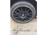"Genuine bbs ch 18"" 5x112 alloy wheels Vw, Audi, £750 ono"