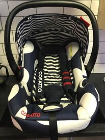 Cosatto pushchair and car seat excellent condition