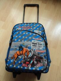Unusual Children's Cowboy Travel Holiday Trolley luggage Wheel bag Suitcase - FREELANDER brand